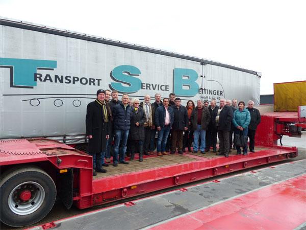 Transporte quer durch Europa