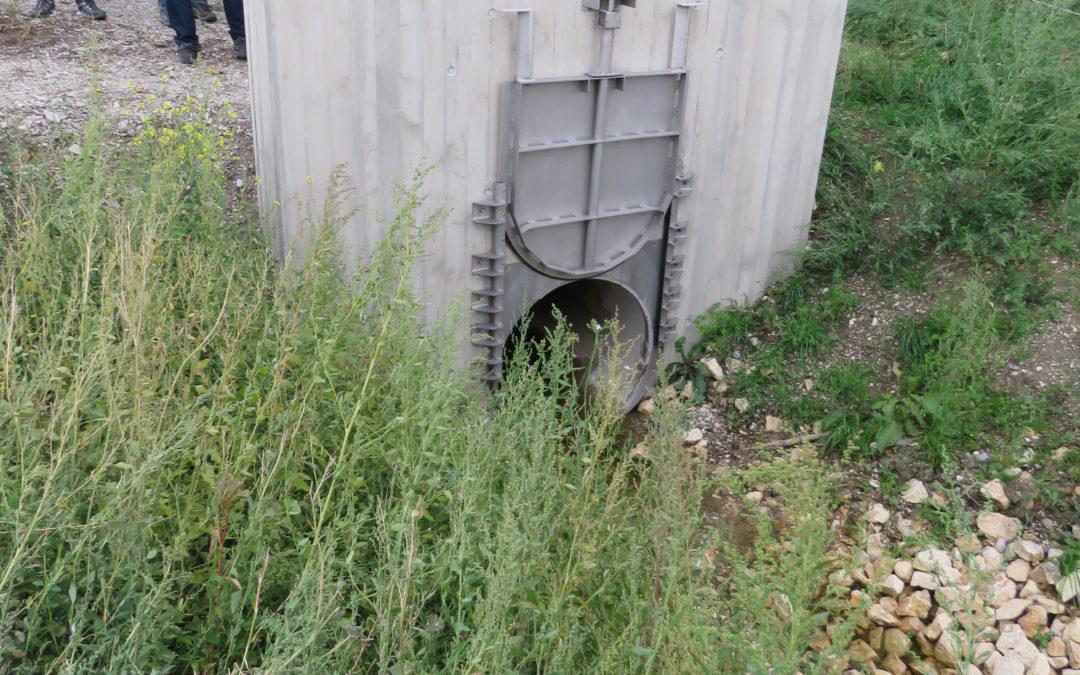 Hochwasserschutz erfolgreich umgesetzt
