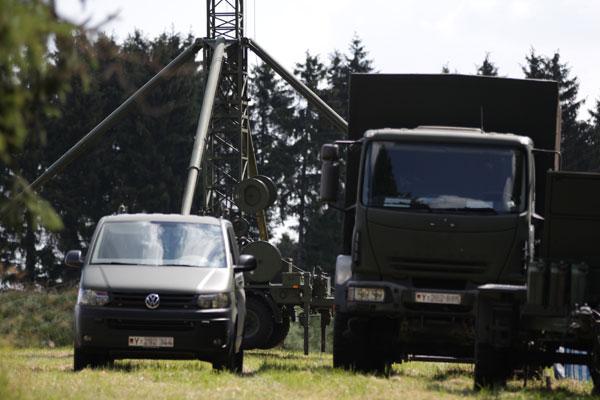 Nachmittag der offenen Übung der Bundeswehr