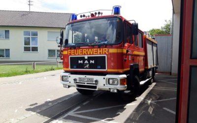 Veräußerung Tanklöschfahrzeug TLF 16/25 Baujahr 1991