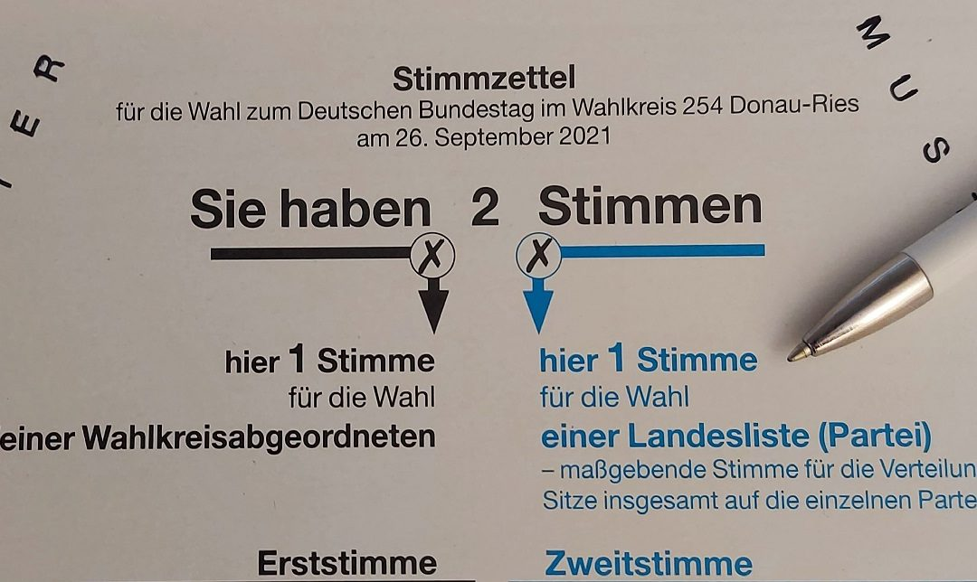 Wahlergebnisse Bundestagswahl